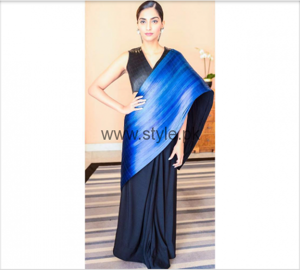 Celebrities spotted in Sarees on Red Carpets (4)