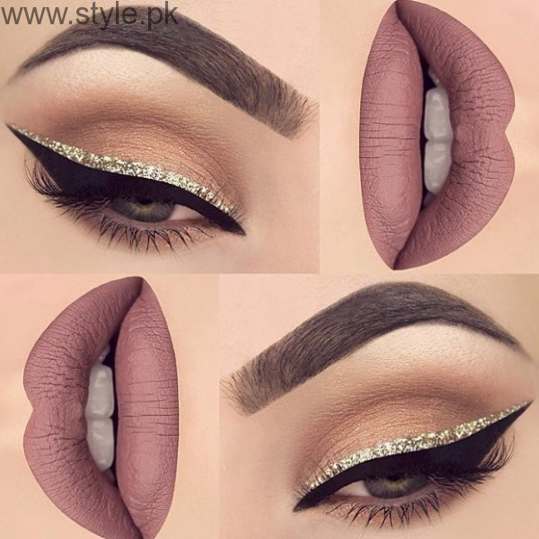 Colorful Eyeliner trends 2016 in Pakistan (13)