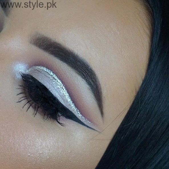 Colorful Eyeliner trends 2016 in Pakistan (2)