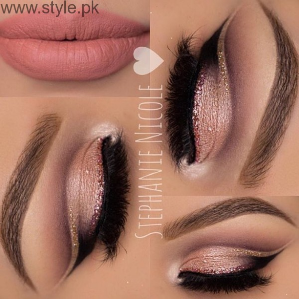 Colorful Eyeliner trends 2016 in Pakistan (3)