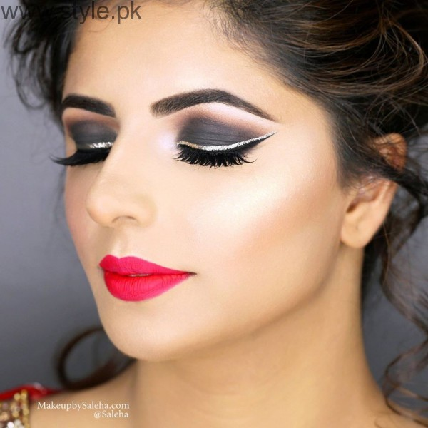 Colorful Eyeliner trends 2016 in Pakistan (4)