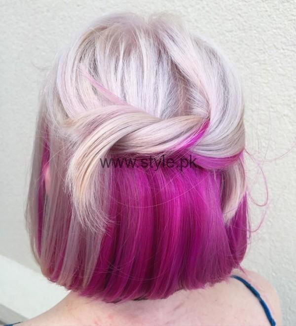 Colorful Hair Dye
