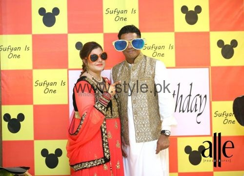 Cricketer Mohammad Sami's son's Birthday Celebrations (12)