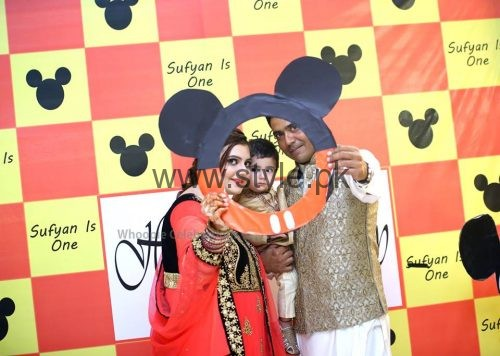 Cricketer Mohammad Sami's son's Birthday Celebrations (3)