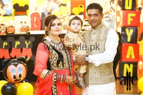 Cricketer Mohammad Sami's son's Birthday Celebrations (5)
