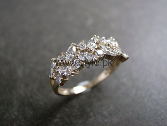 Engagement Gold Rings 2016 for Girls (8)