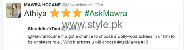 Fans asked strange Questions from Mawra Hocane in #AskMawra Session (12)