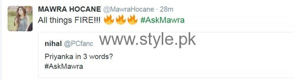 Fans asked strange Questions from Mawra Hocane in #AskMawra Session (3)