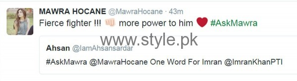 Fans asked strange Questions from Mawra Hocane in #AskMawra Session (7)