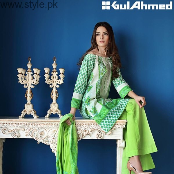 Gul Ahmed Midsummer Dresses 2016 For Women0012