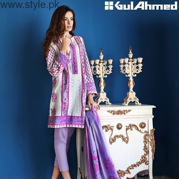 Gul Ahmed Midsummer Dresses 2016 For Women0013
