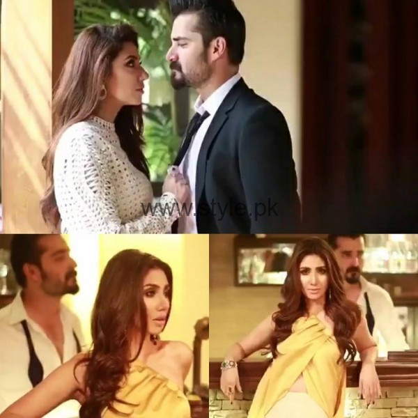 Hamza Abbasi and Mahira Khan photshoot