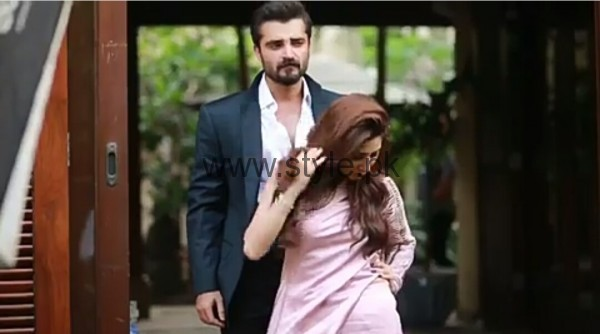 Hamza Ali Abbasi and Mahira Khan are busy in their latest Photo Shoot (3)