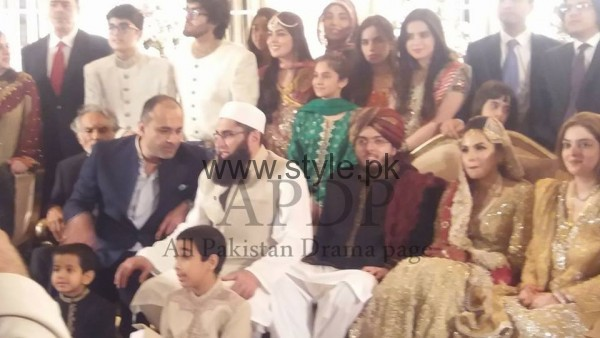 Junaid Jamshed's son got married (2)