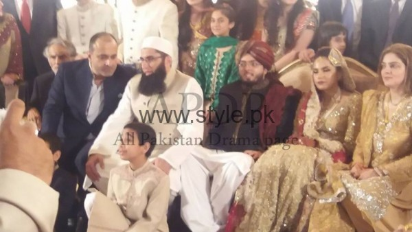 Junaid Jamshed's son got married (3)