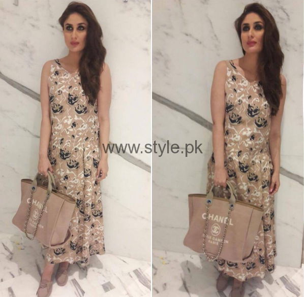 Kareena Kapoor is displaying Fashion Trends for Pregnant Women (2)