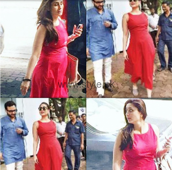 Kareena Kapoor is displaying Fashion Trends for Pregnant Women (4)