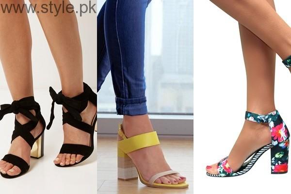 Latest Block Heel Sandals 2016 (1)