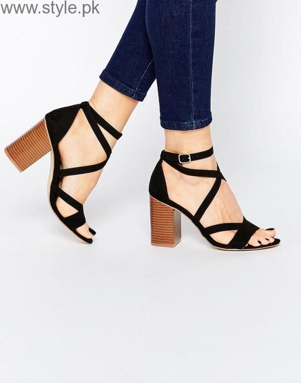 Latest Block Heel Sandals 2016
