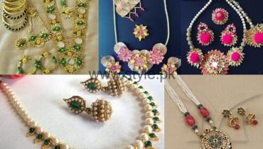 See Latest Bridal Mehndi Jewellery 2016
