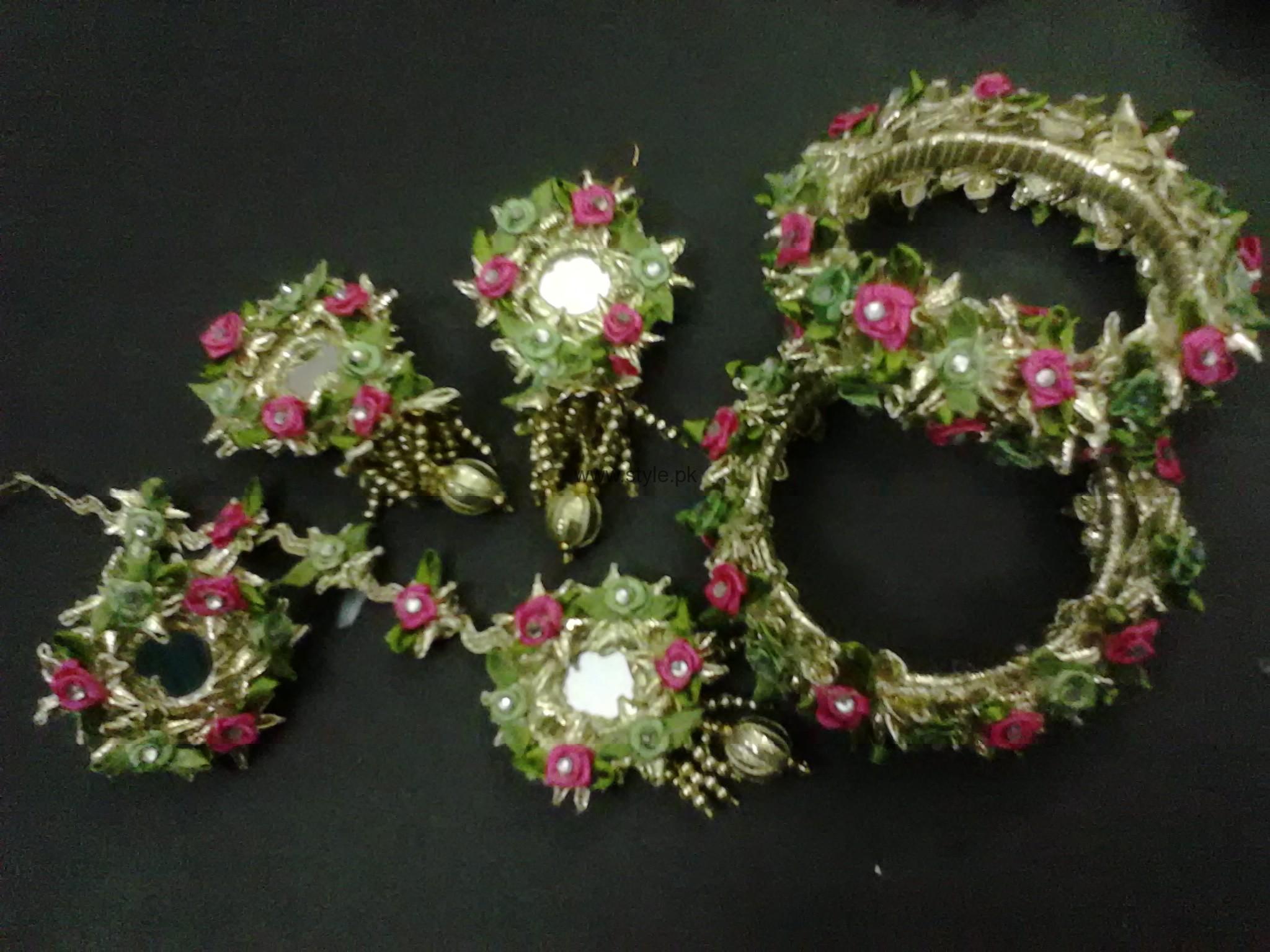Latest Bridal Mehndi Jewellery 2016