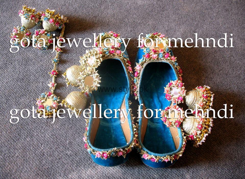 I Bridal Mehndi Jewellery : Latest bridal mehndi jewellery
