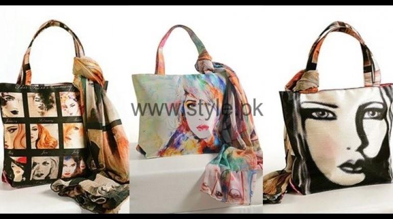 See Latest Digital Print Handbags 2016