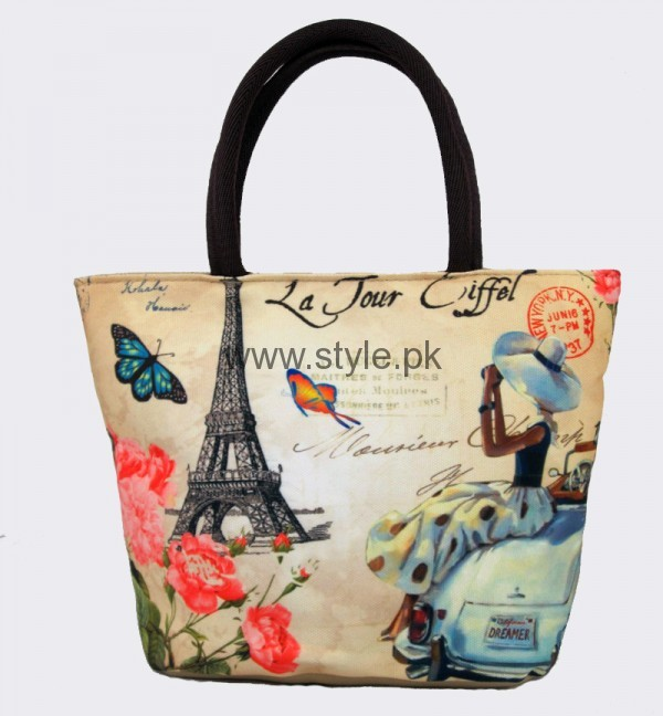Latest Digital Print Handbags 2016 (14)
