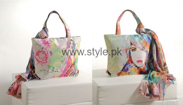 Latest Digital Print Handbags 2016 (18)