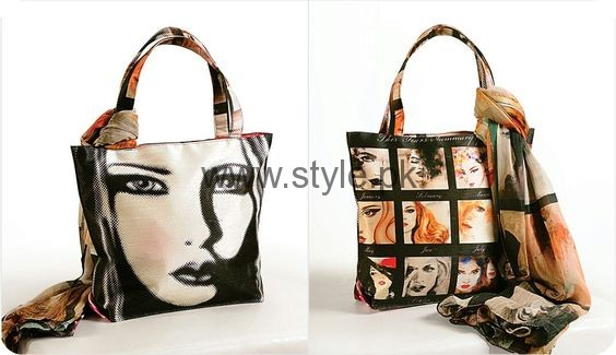 Latest Digital Print Handbags 2016 (2)