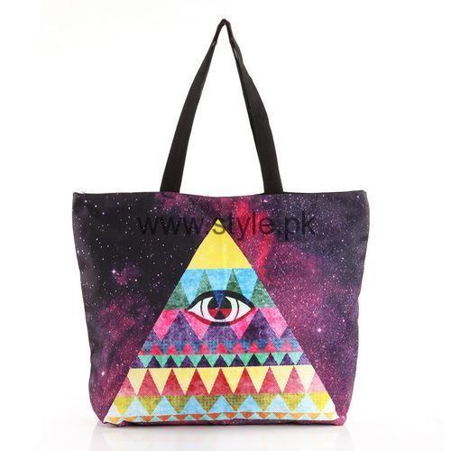 Latest Digital Print Handbags 2016 (3)