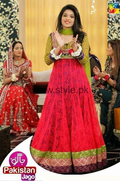 Latest Dresses 2016 for Mehndi Event (14)