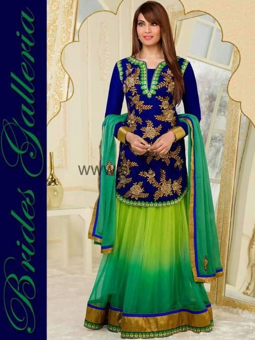 Latest Dresses 2016 for Mehndi Event (3)