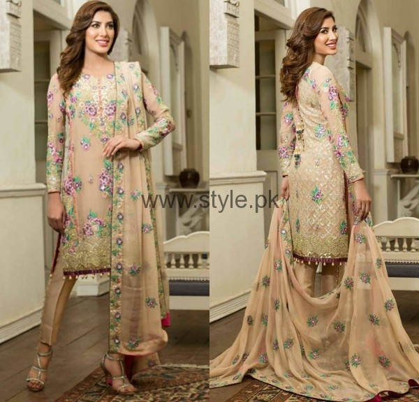 Latest Embroidered dresses 2016 for Newly Married girls (12)