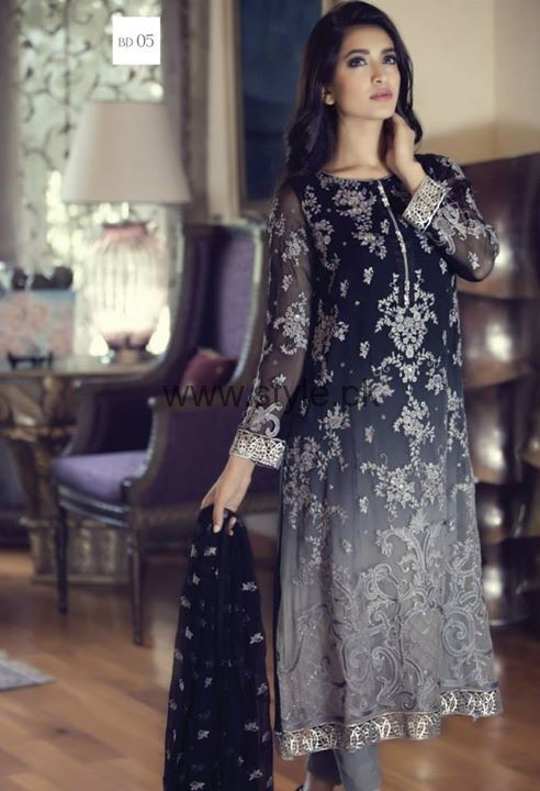 Latest Embroidered dresses 2016 for Newly Married girls (15)