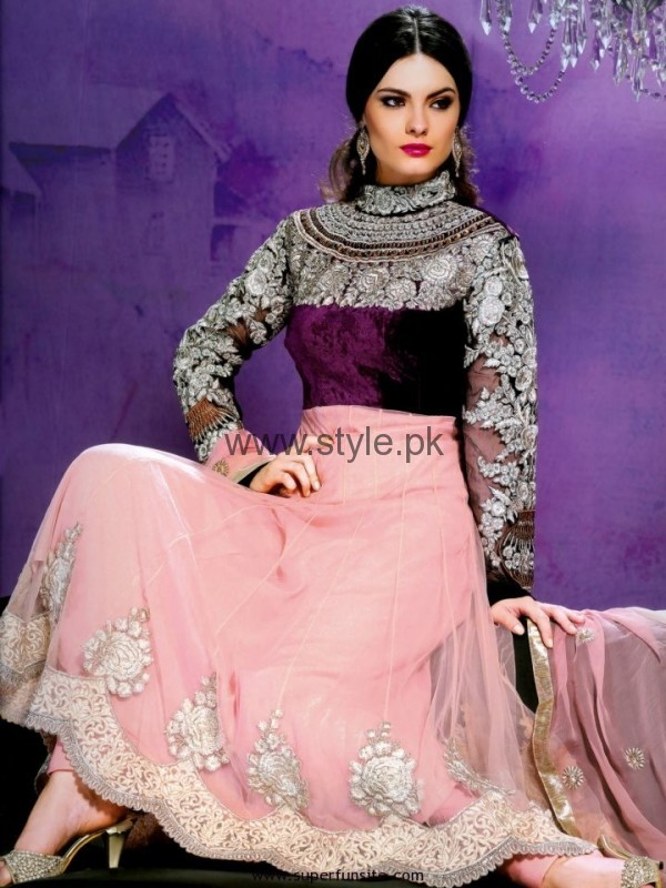Latest Embroidered dresses 2016 for Newly Married girls (19)