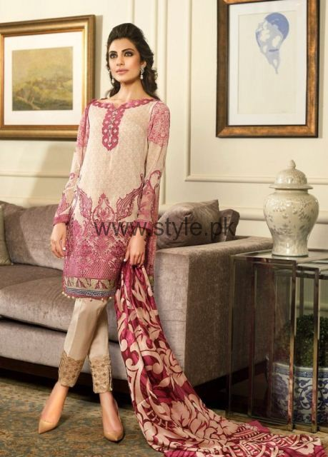 Latest Embroidered dresses 2016 for Newly Married girls (3)