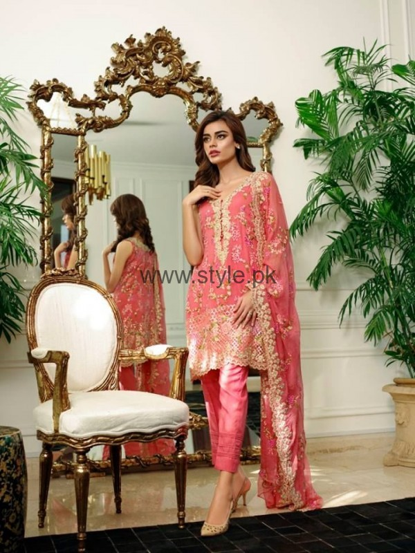 Latest Embroidered dresses 2016 for Newly Married girls (5)