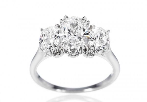 Latest Engagement Diamond Rings for Girls 2016 (18)