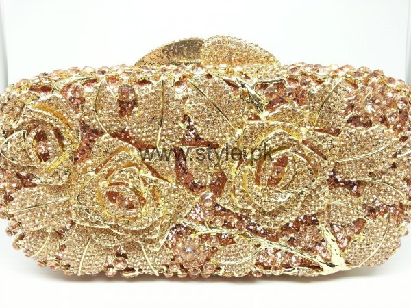 Latest Golden Bridal Clutches 2016 (15)