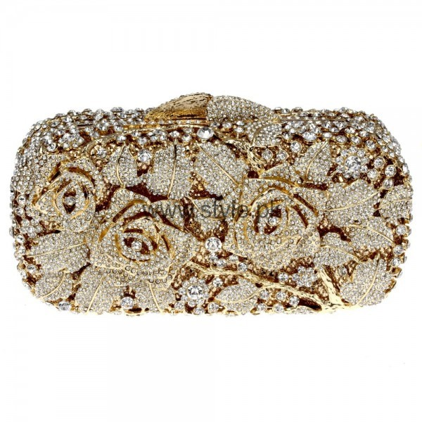 Latest Golden Bridal Clutches 2016 (8)