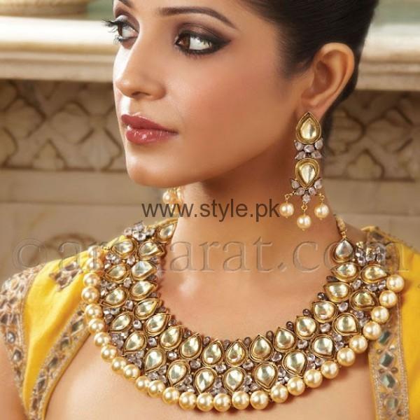 Latest Kundan Bridal Jewellery 2016 (11)