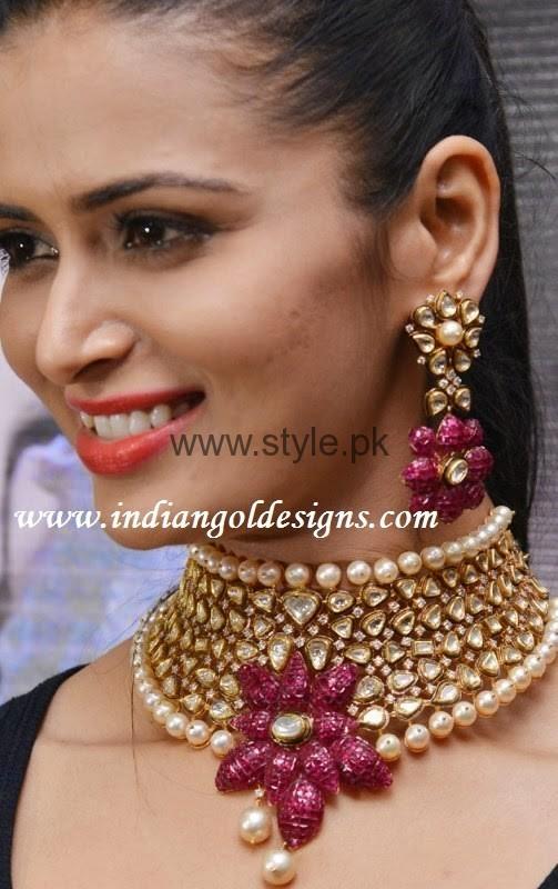 Latest Kundan Bridal Jewellery 2016 (13)