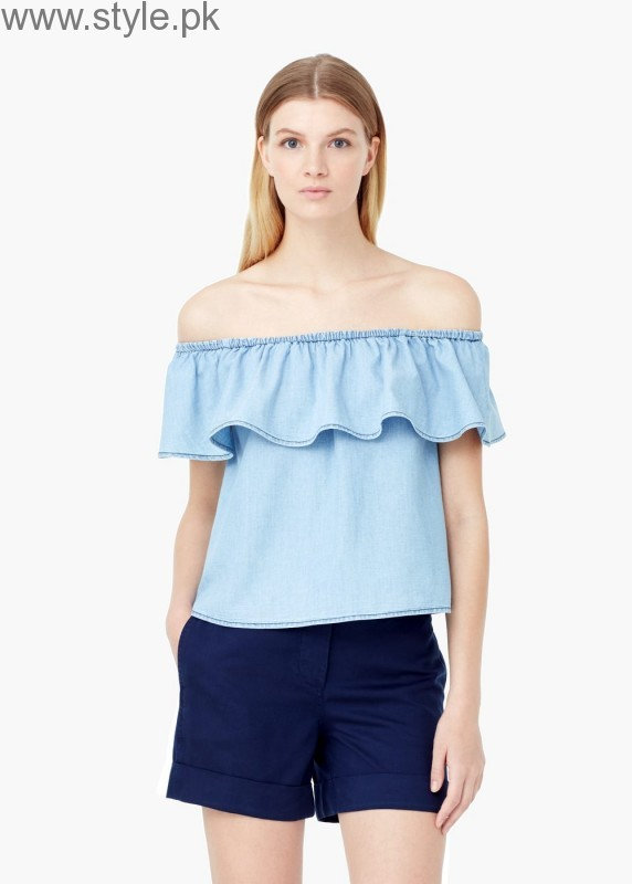 Latest Off-Shoulder Tops 2016 (16)