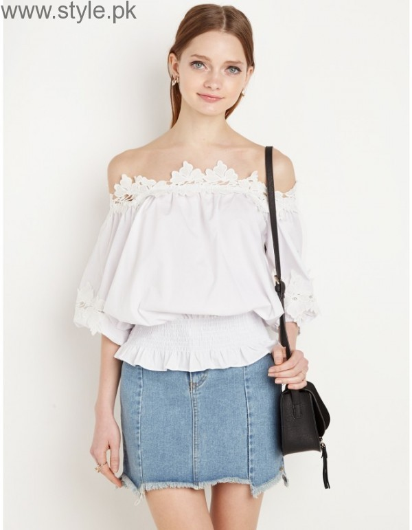 Latest Off-Shoulder Tops 2016 (20)