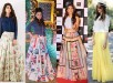 See Latest Pakistani Skirts 2016