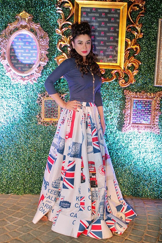 Latest Pakistani Skirts 2017