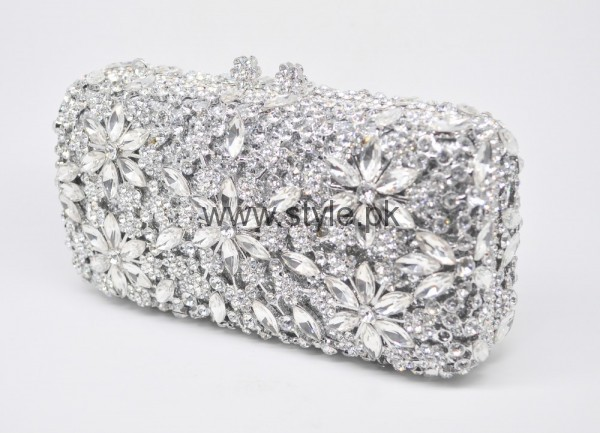 Latest Silver Bridal Clutches 2016 (10)