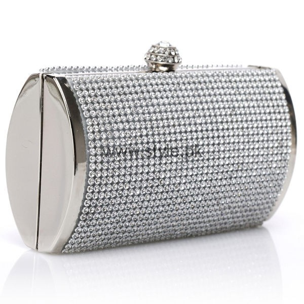 Latest Silver Bridal Clutches 2016 (11)