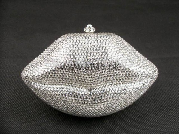 Latest Silver Bridal Clutches 2016 (2)